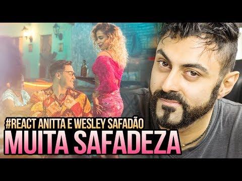 REAGINDO a Wesley Safadão e Anitta - Romance Com Safadeza