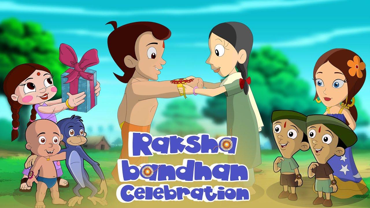 Chhota Bheem - Rakshabandhan Celebration | Rakhi Special Gift |Rakhi Special Video| Cartoon for Kids