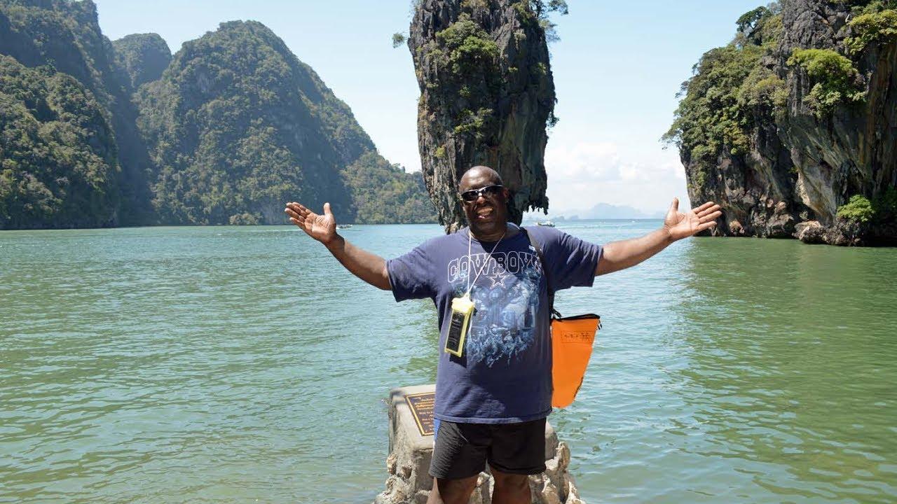 James Bond Island excursion off the coast of Phuket Thailand