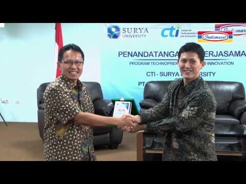Technopreneurship SU dan Indomaret -- Lahirkan Entrepreneur Muda Kreatif dan Kompetitif