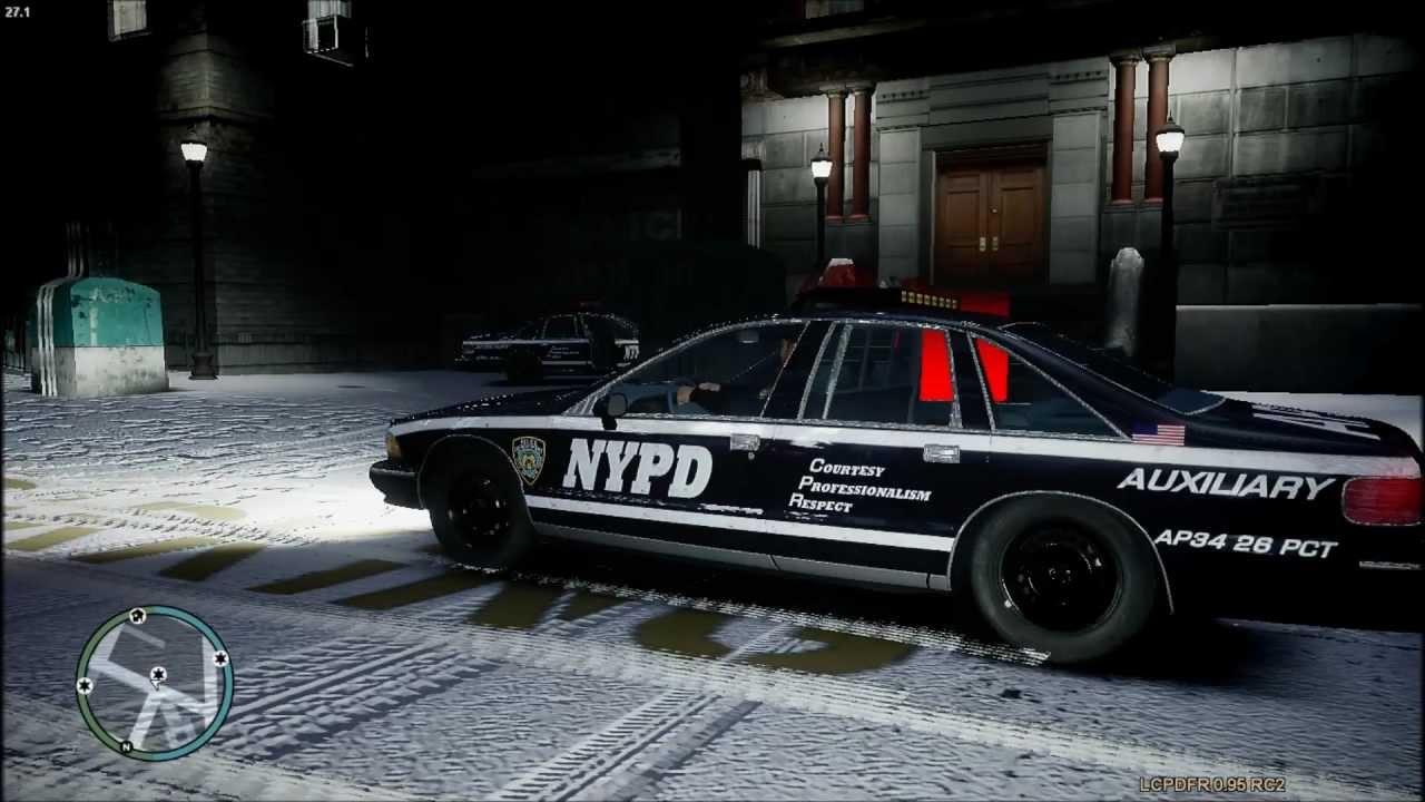 gta iv lcpdfr  nypd  patrol  chevy caprice