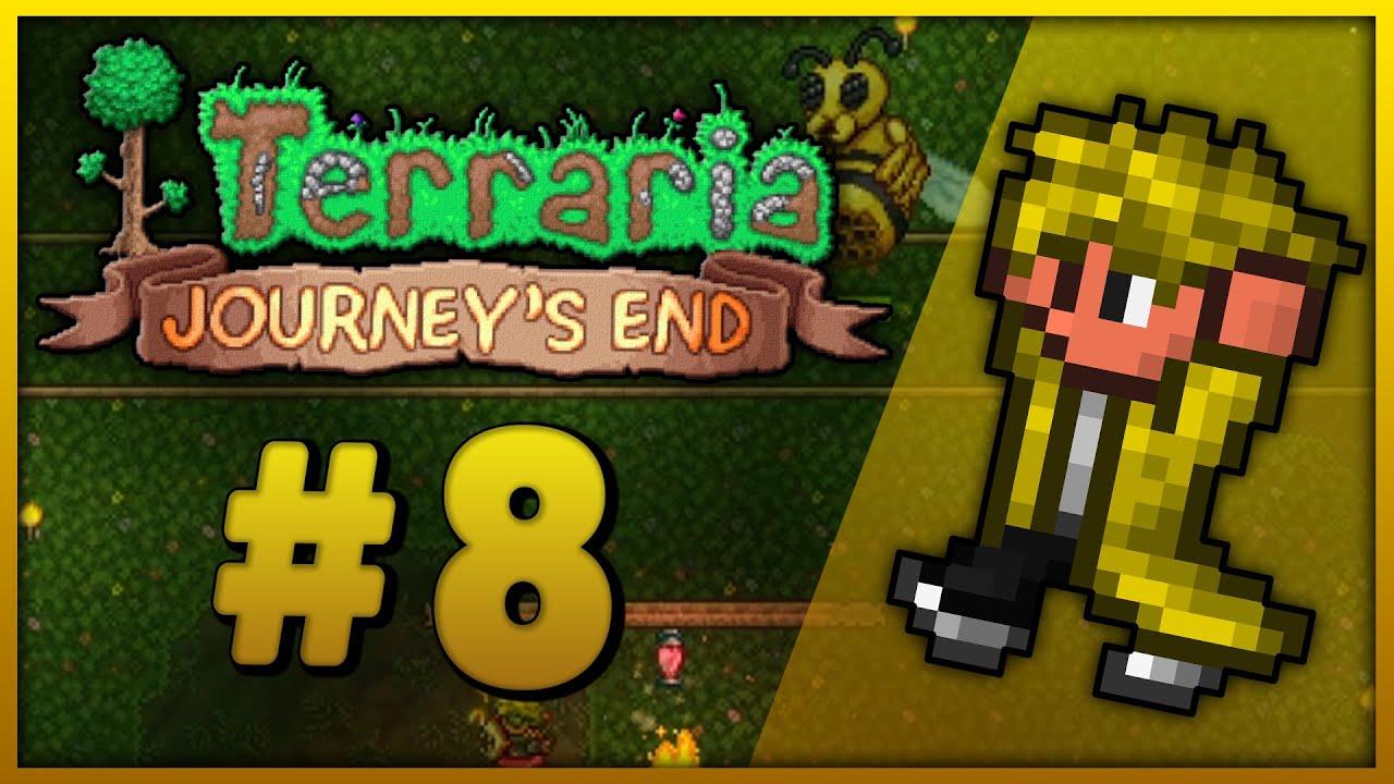Terraria Journey's End #8 - W drodze po miód [1.4] [Master Mode]