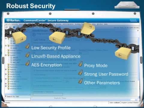 Centralized Server Management with CommandCenter® Secure Gateway