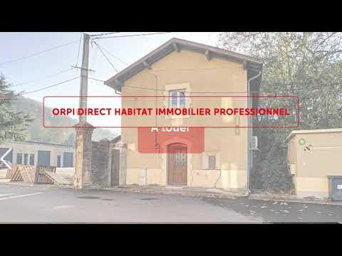 ORPI Direct Habitat Immobilier Professionnel à louer bureaux Neuville sur Saône (69250) !