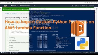 How to Import Custom Python Packages on AWS Lambda Function