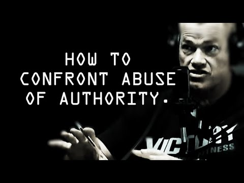 How To Confront Abuse Of Authority - Jocko Willink
