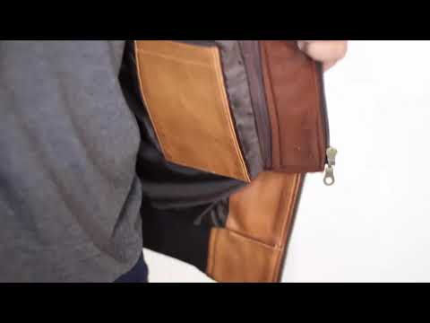 Bomber Brown Leather Jacket With Hood | Film Jackets