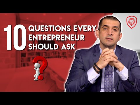 10 Questions Every Entrepreneur Should Ask