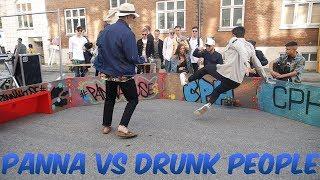 Pannas vs Drunk people in Copenhagen