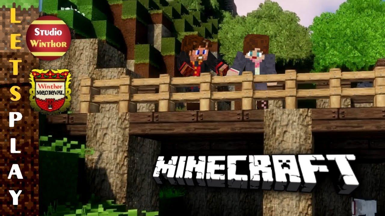 penetrant entsteht die palisadenwand    minecraft #173    let's play