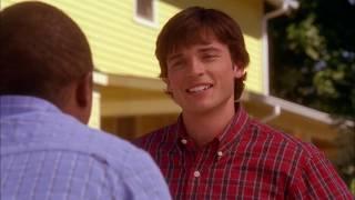 Тайны Смолвиля. Кларк рассказывает свой секрет Питу.