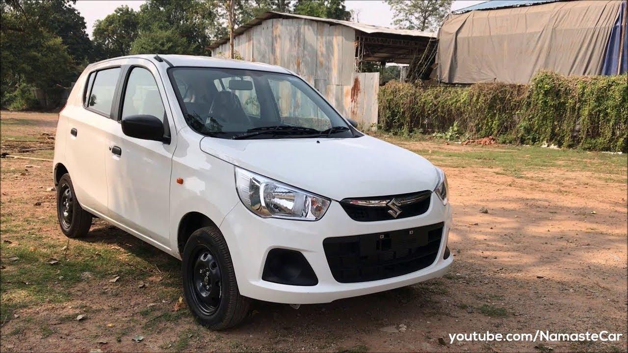 Maruti Suzuki Alto K10 Vxi 2017 | Real-life review - YouTube