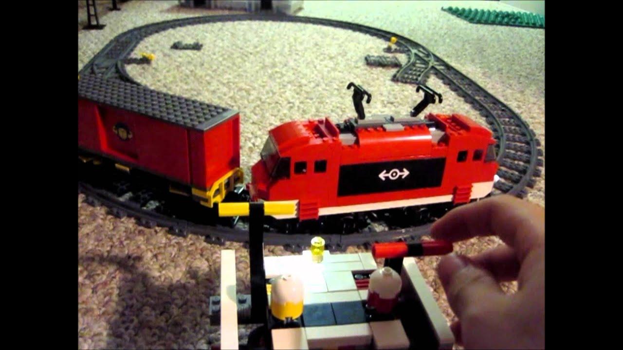 Lego Moc: Power Function Train Controller - YouTube