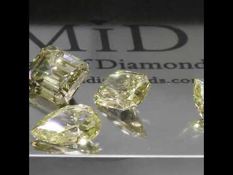 Brilliant Fancy Yellow Diamonds by #middiamonds