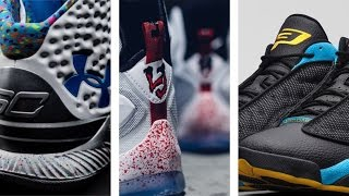 Bloody LEBRON 13, CP3 JORDAN Retro PE, Splash Party Curry One and more on Today in Sneaks