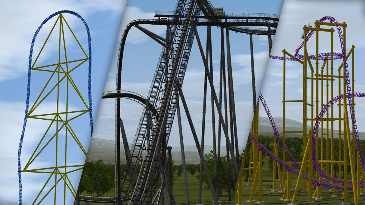 NoLimits 2: My First Ever Coasters