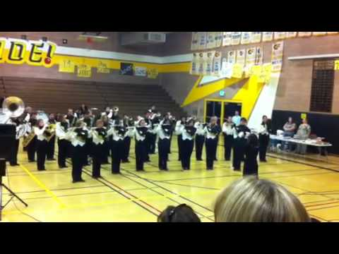 Band concert yucca valley high school