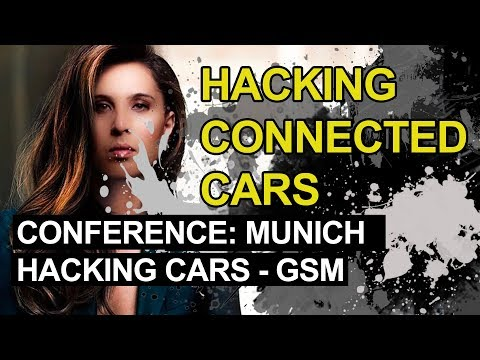 Alissa Knight speaking on panel at Cyber Secure Car Conference 2016 in Munich, Germany