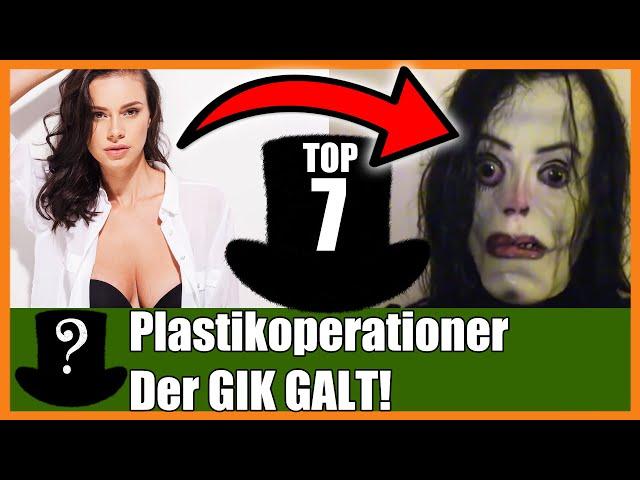 TOP 7 Plastikoperationer Der GIK GALT!