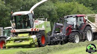 ( SPOT / Classic Video ) Silvan im Gras / Claas Jaguar 890 Green Eye am Gras häckseln 2015