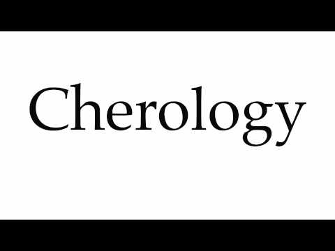 How to Pronounce Cherology