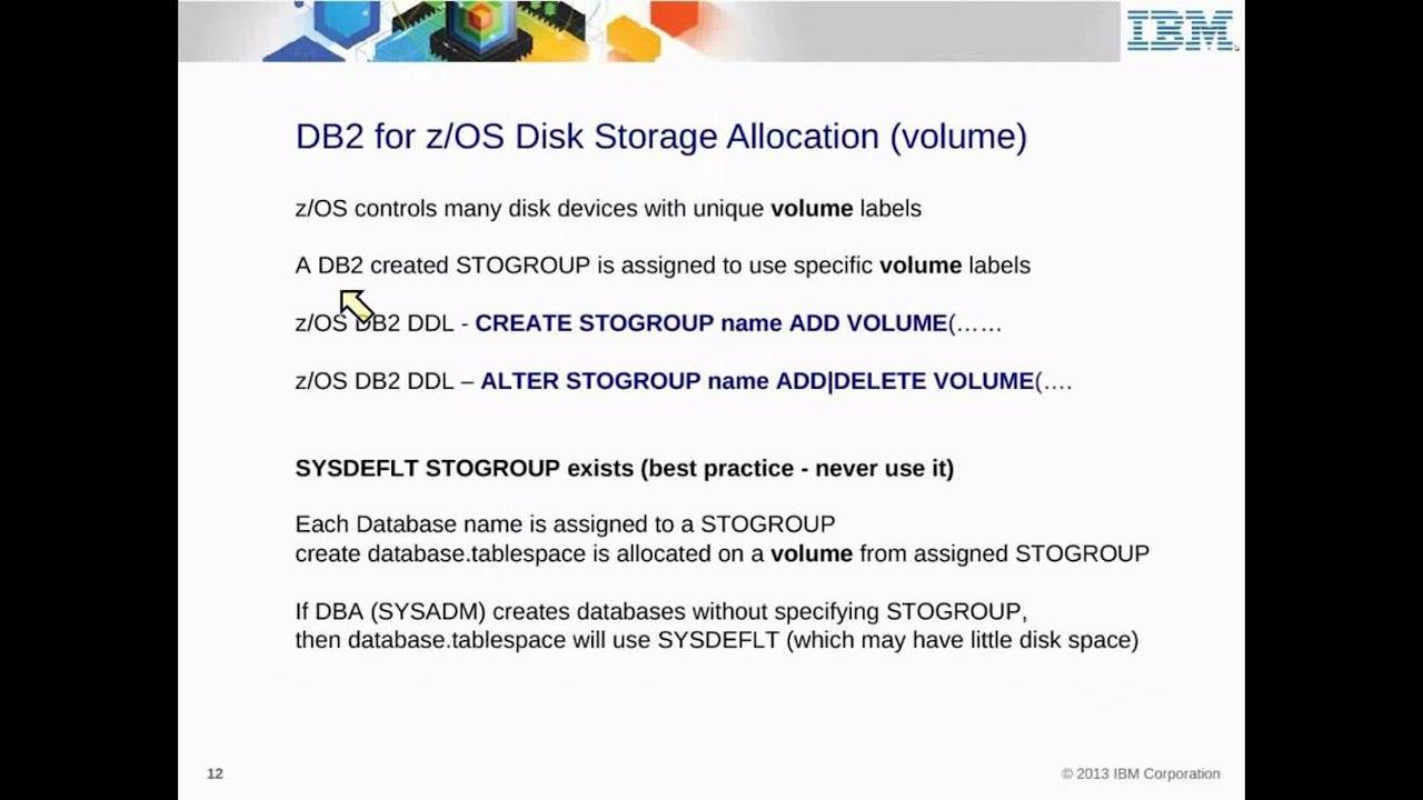 IBM Academic Initiative DB2 for z/OS - Unit 18