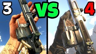 TODAS LAS ARMAS DE FAR CRY 3 VS FAR CRY 4