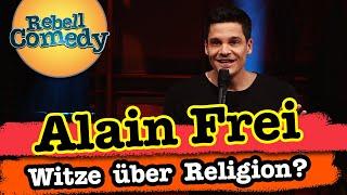 Alain Frei – Darf man über Religion Witze machen?