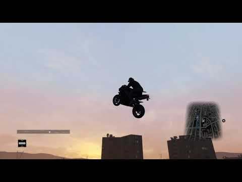 WATCH_DOGS™Motorcycle Roof Jump