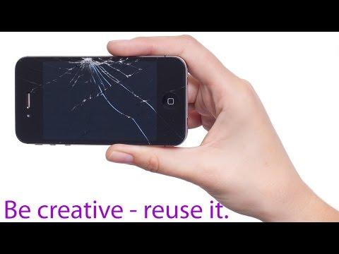 Kreativ sein - alte Geräte weiter nützen - Beispiele wie das funktionieren kann