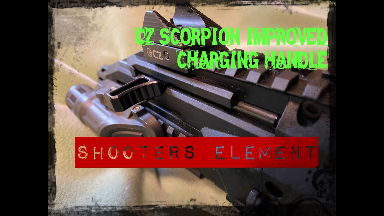 CZ SCORPION IMPROVED CHARGING HANDLE| SHOOTERS ELEMENT
