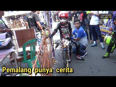Daffa della bersaing sama pembalap senior metic tu 200cc | dragbike pemalang 2018