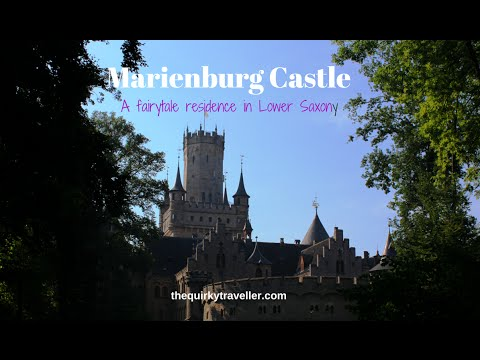 A guided tour of Marienburg Castle, Lower Saxony, Germany
