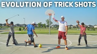 Evolution of Trick Shots | Brodie Smith