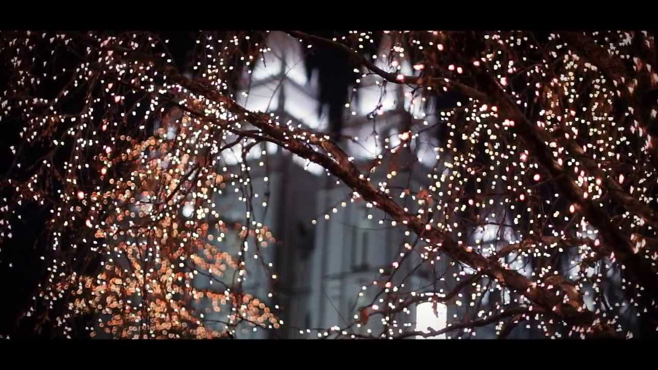 Salt Lake City Temple Square Christmas Lights - YouTube