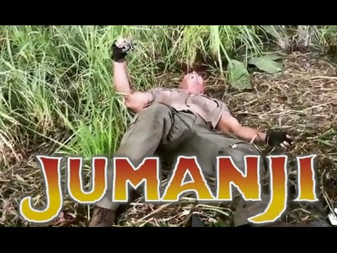 The Rock Pranks & Scares Kevin Hart on set of Jumanji (Kevin Hart, The Rock, Nick Jonas, Jack Black)