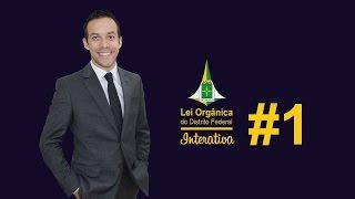 Lei Orgânica Interativa #1 - Professor Rodrigo francelino