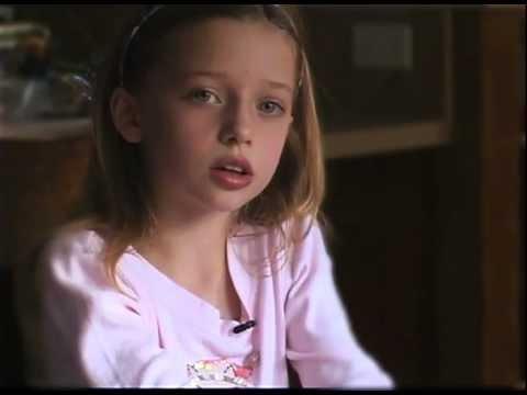 Child Describes Her Food Allergies