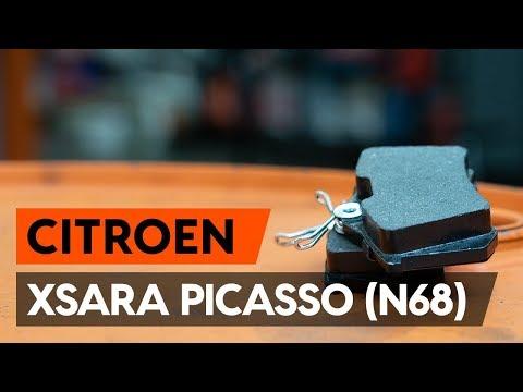Как заменить передние тормозные колодки на CITROEN XSARA PICASSO (N68) [ВИДЕОУРОК AUTODOC]