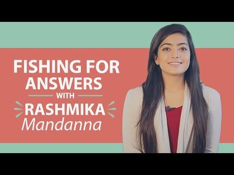 Rashmika Mandanna says Rakshit Shetty cannot beat her in being romantic | Fishing for Answers