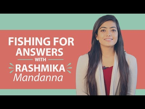 Rashmika Mandanna says Rakshit Shetty cannot beat her in being romantic | Fishing for Answers