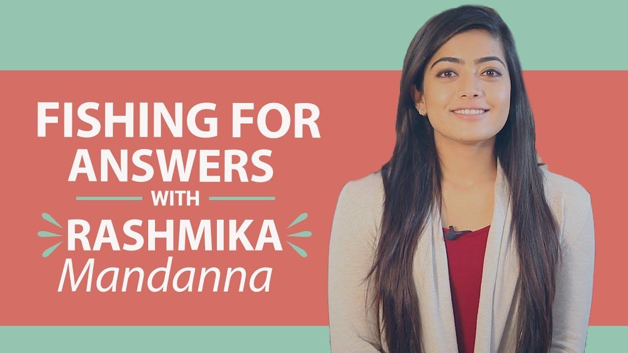 Rashmika Mandanna says Rakshit Shetty cannot beat her in being romantic   Fishing for Answers