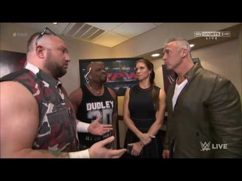 The Dudley Boyz, Shane & Stephanie McMahon Backstage thumbnail