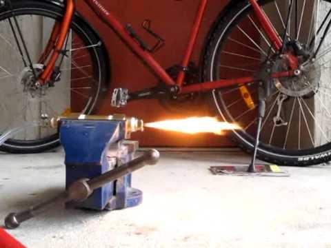 Crazy Rocket Engine -- Static Test (#1)