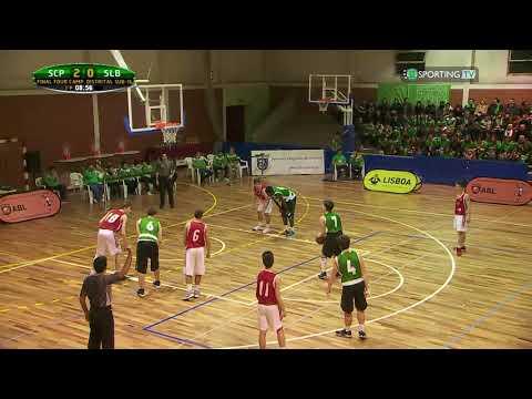 Final 4 sub-16 masculinos - Sporting CP x SLB