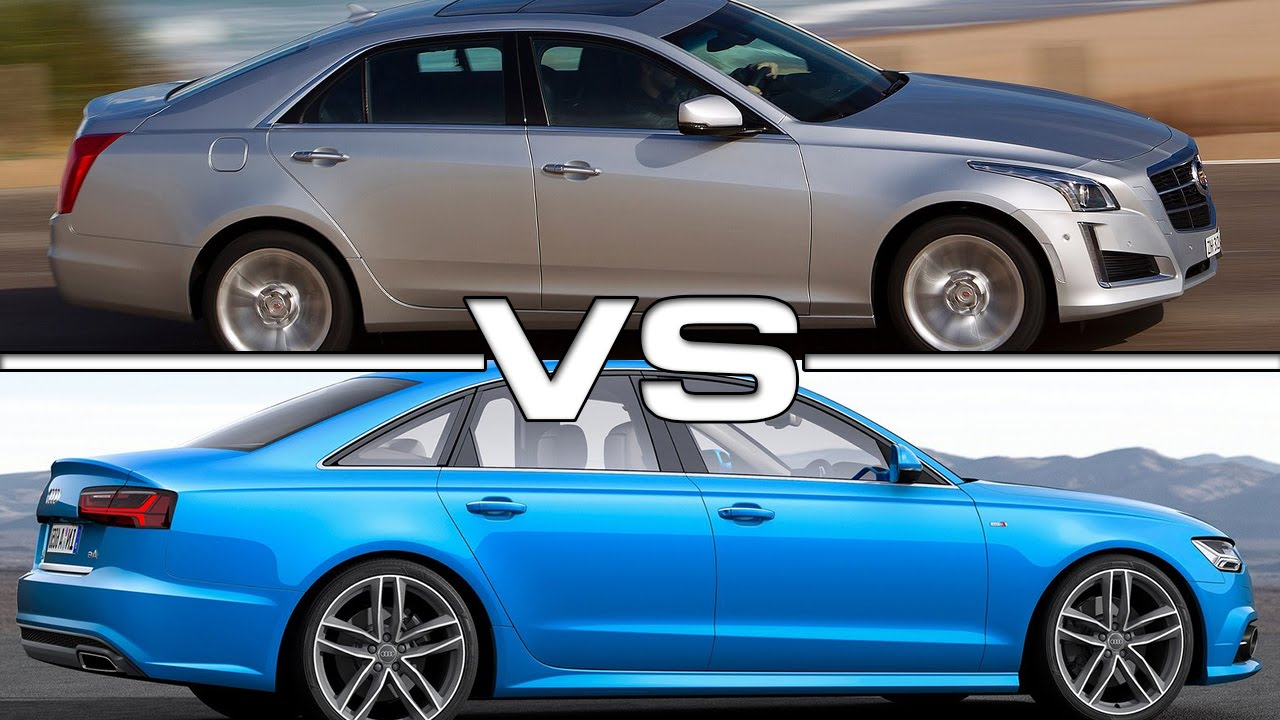 cadillac cts vs audi a6 road test youtube. Black Bedroom Furniture Sets. Home Design Ideas