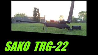 SAKO TRG-22 Overview and experiences with it.
