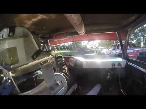 Adam Snyder - Hobby Stock Heat - Murray County Speedway 6-23-17