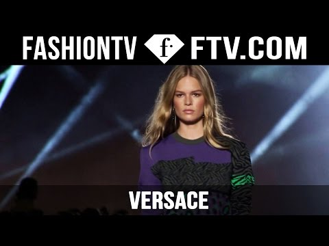 Versace Spring/Summer 2016 Runway Show | Milan Fashion Week MFW | FashionTV