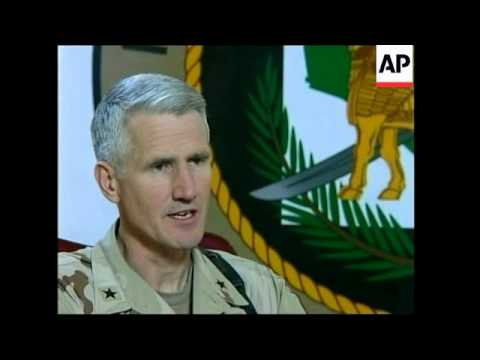 US military spokesperson in Iraq on marine hostage